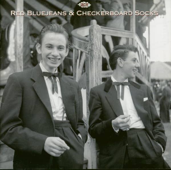 Red Bluejeans & Checkerboard Socks (CD)
