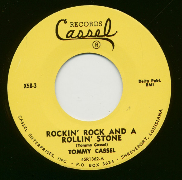 Rockin' Rock And A Rollin' Stone - It Ain't What You Got (7inch, 45rpm)