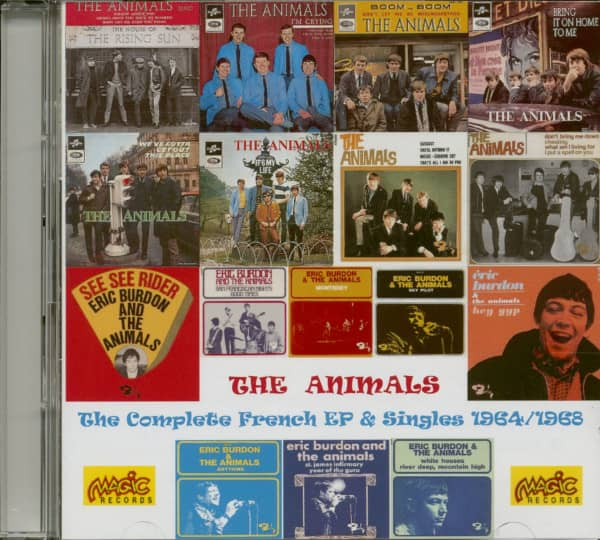The Complete French EP & Singles 1964 - 1968 (2-CD)