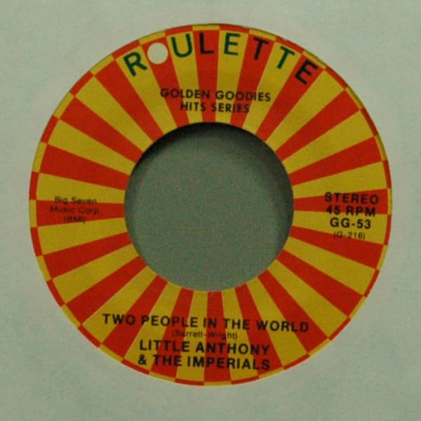 Two People In The World b-w Wishful Thinking 7inch, 45rpm
