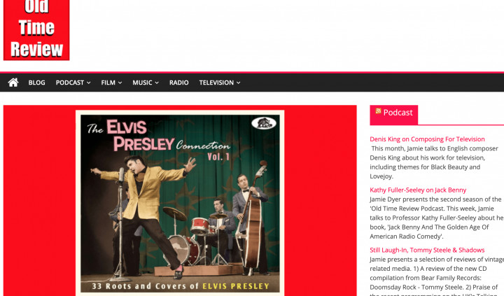 Presse-Archiv-The-Elvis-Presley-Connection-Vol-1-CD-Old-Time-Review