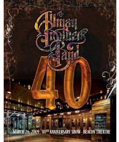 40: 40th Anniversary Show Live At The Beacon Theatre 2009