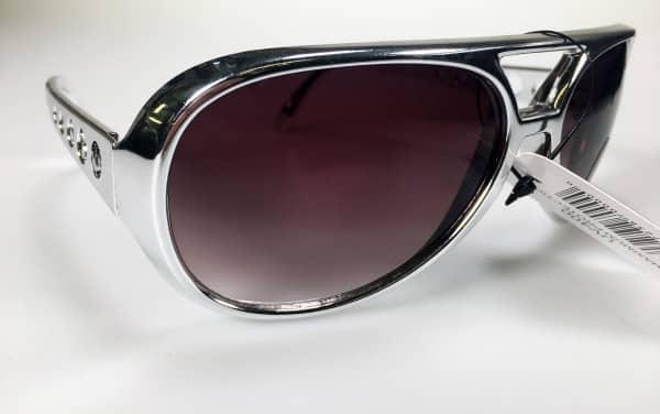 Elvis Sunglasses - Silver