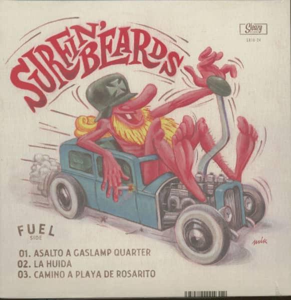 Surfin' Beards (LP, 10inch, 45rpm)