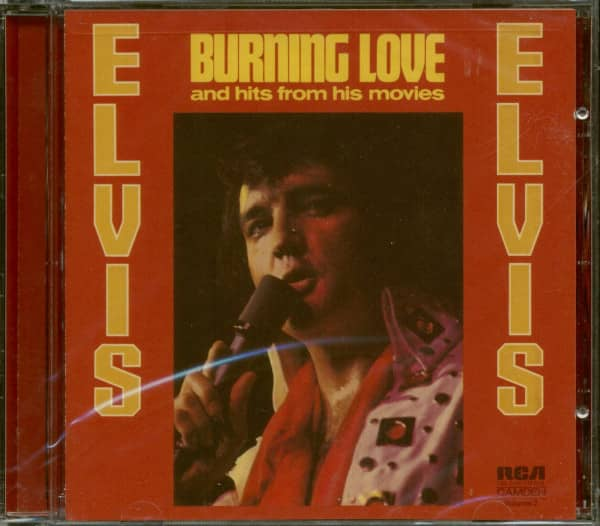 Burning Love And Hits From His Movies (CD)