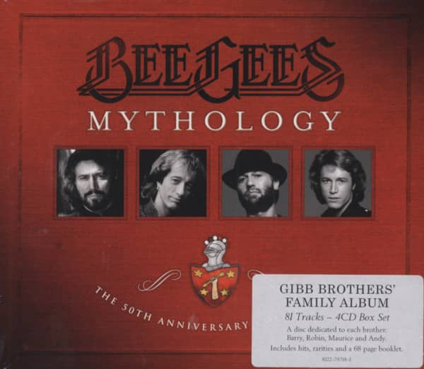 Mythology - The 50th Anniversary Collection (4-CD)