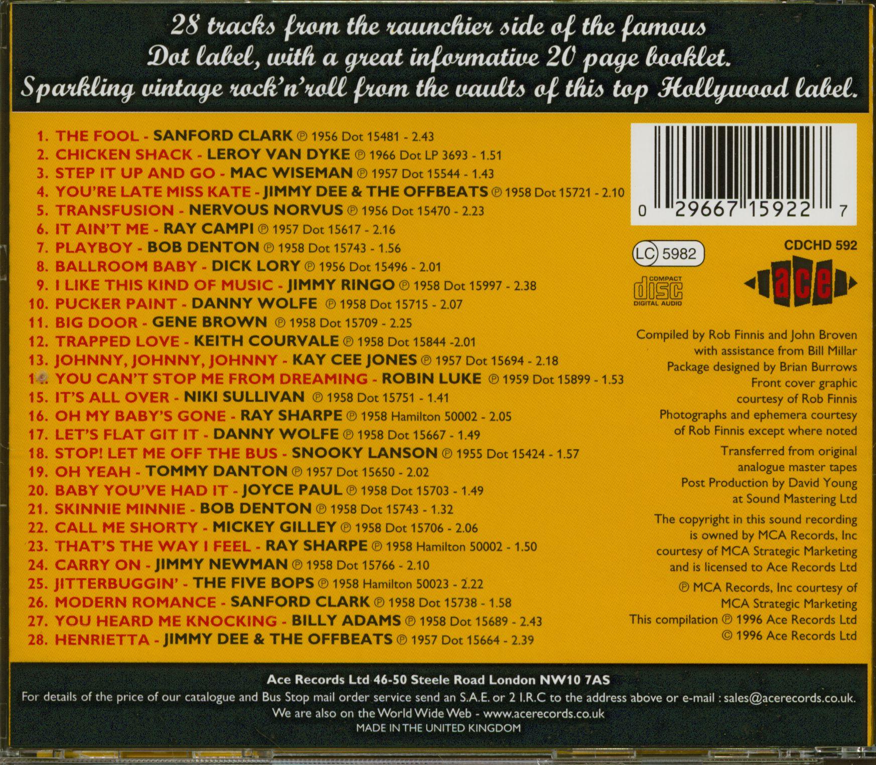 Various Dot Rock & Roll (CD)