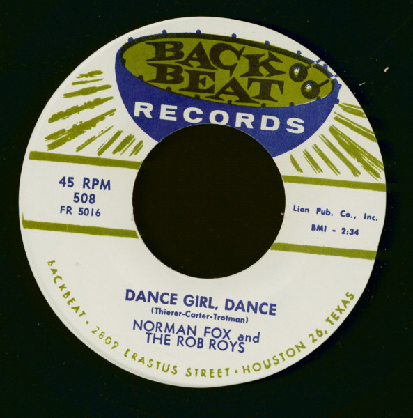 Dance Girl, Dance - My Dearest One (7inch, 45rpm)