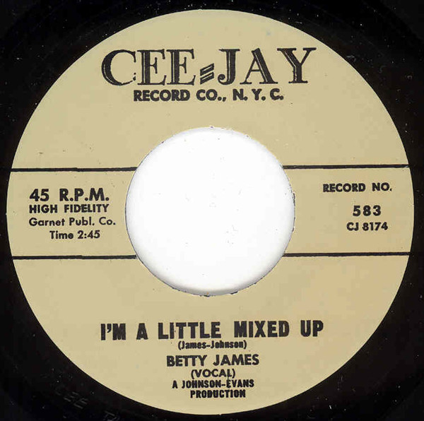 I'm A Little Mixed Up - Help Me To Find...7inch, 45rpm
