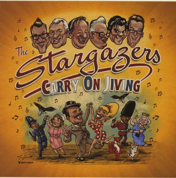 Carry On Jiving (LP)