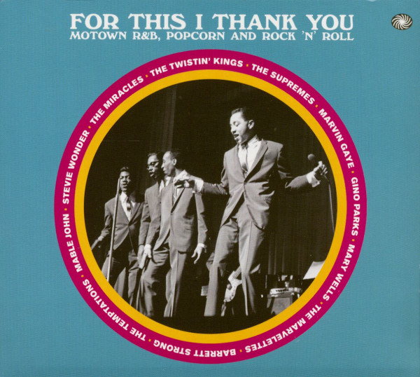 For This I Thank You - Motown R&B, Popcorn And Rock'n'Roll (3-CD)