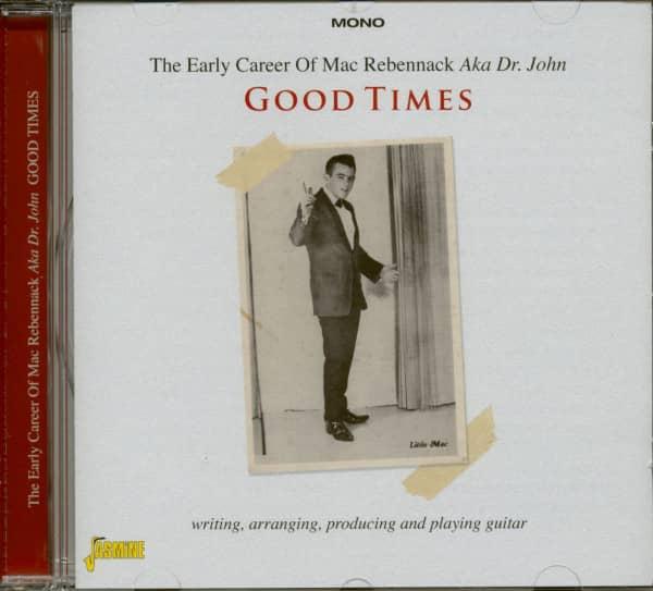 The Early Career Of Mac Rebennack Aka Dr. John (CD)