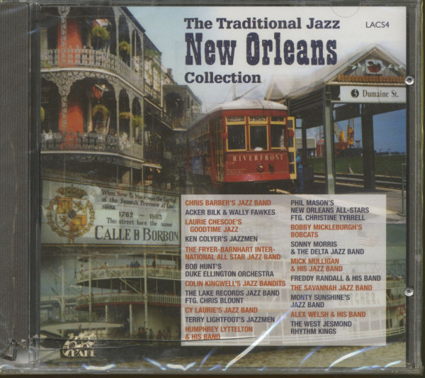 Traditional Jazz New Orleans Collection (CD)