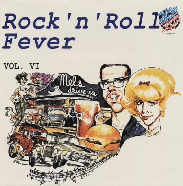 Rock & Roll Fever Vol.6 (LP)
