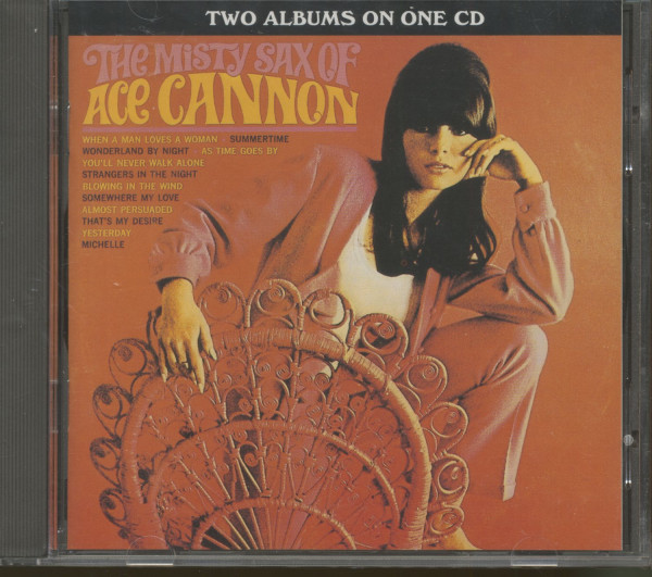 The Misty Sax Of Ace Cannon - Memphis Golden Hits (CD)