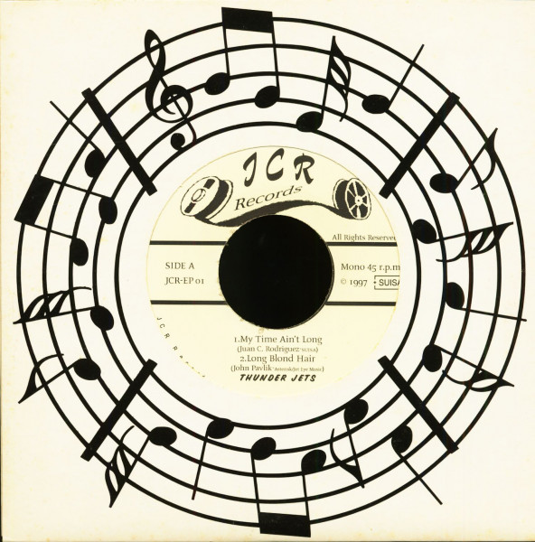 Thunder Jets (EP, 7inch, 45rpm)