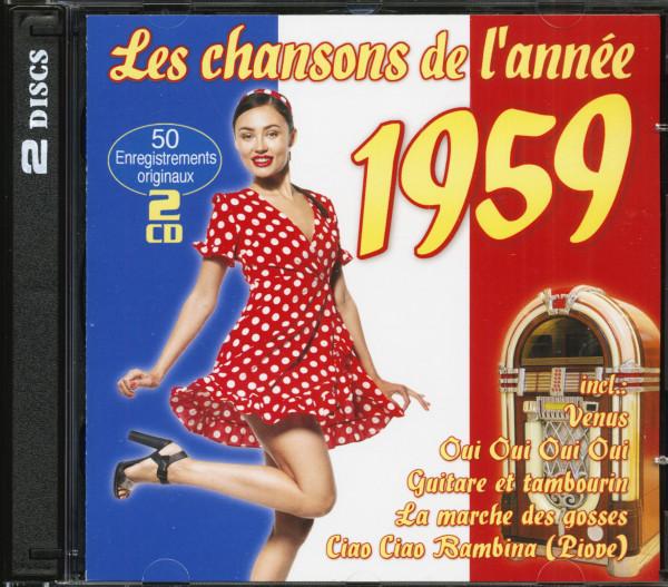 Les chansons de l'année 1959 (2-CD)