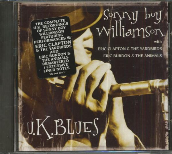 U.K. Blues (CD, Cut-Out)