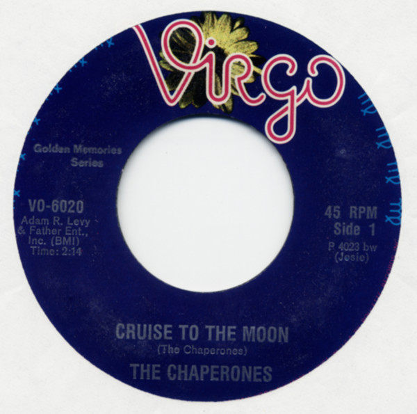 Cruise To The Moon b-w Shining Star 7inch, 45rpm