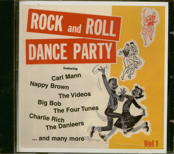 Rock And Roll Dance Party Vol.1 (CD)