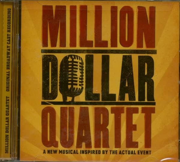 Million Dollar Quartet - US Musical (CD)