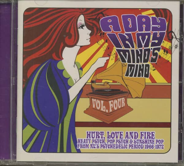 A Day In My Mind's Mind, Vol.4 - The Kiwi Psychedelic Scene 1966-72 (CD)