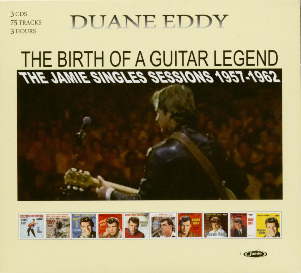 Birth Of A Guitar Legend - The Jamie Singles Sessions 1957-1962 (3-CD)