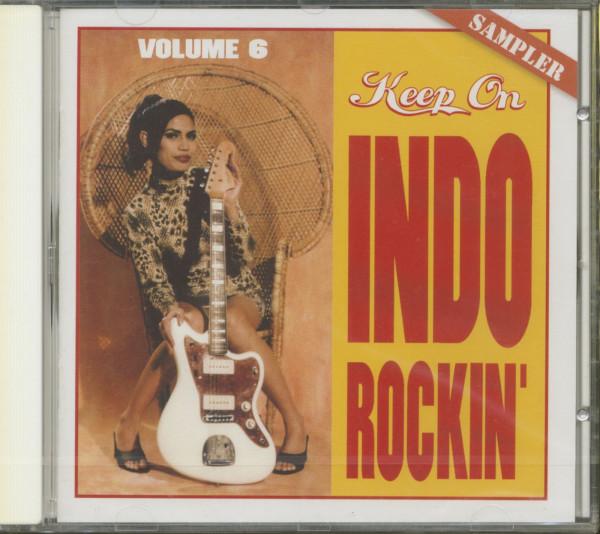 Keep On Indo Rockin', Vol.6 (CD)