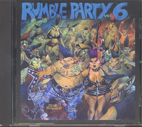 Rumble Party Vol.6 (CD)