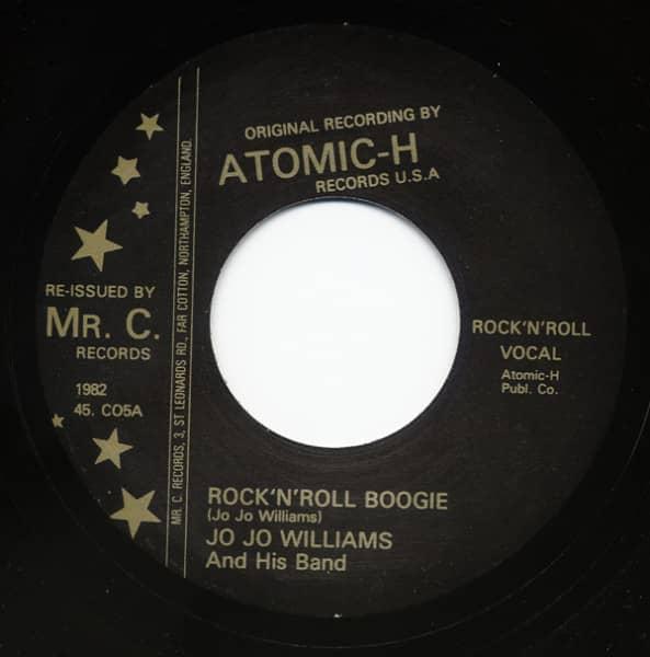 Rock & Roll Boogie - All Pretty Wimmens 7inch, 45rpm