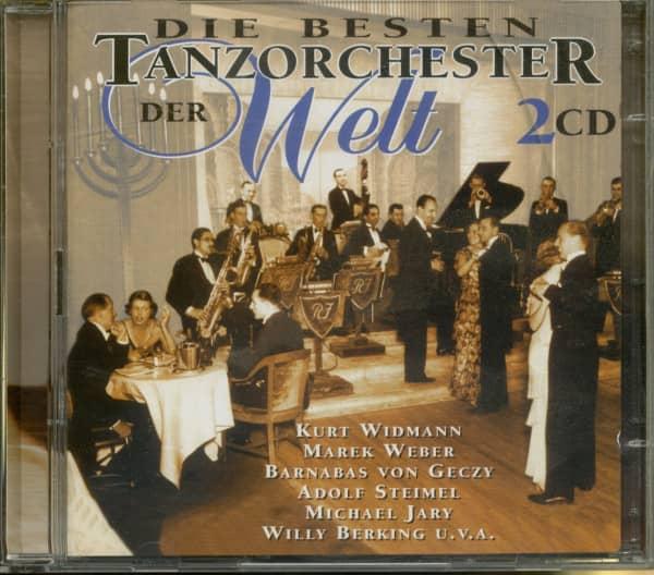 Die besten Tanzorchester der Welt 1930-58 (2-CD)