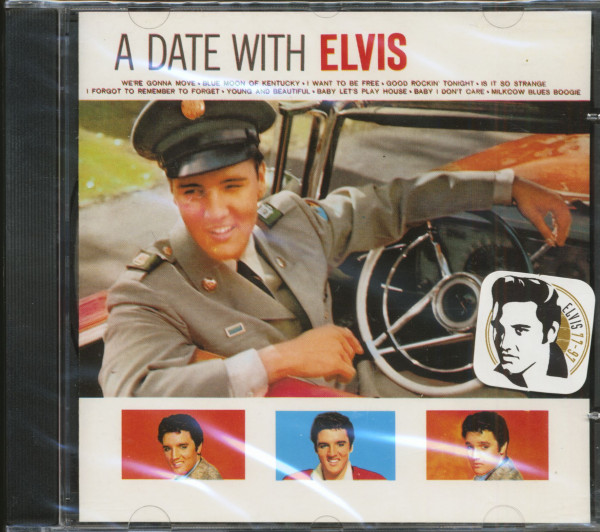 A Date With Elvis (CD, Brazil)