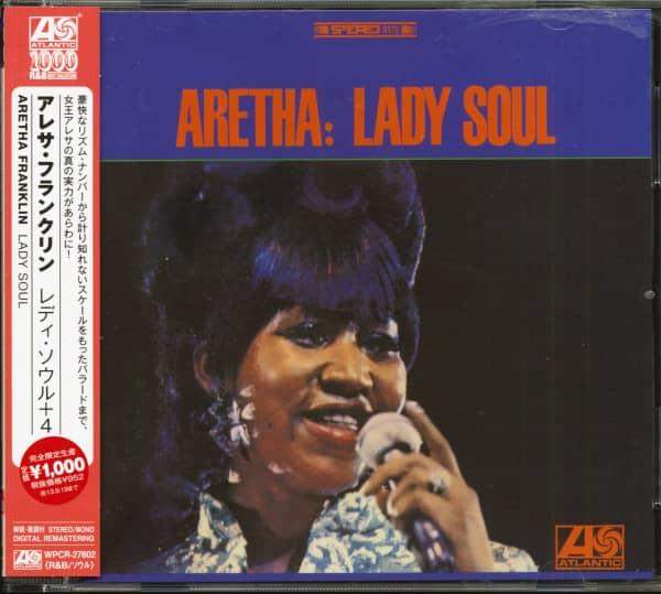 Lady Soul (CD, Japan)