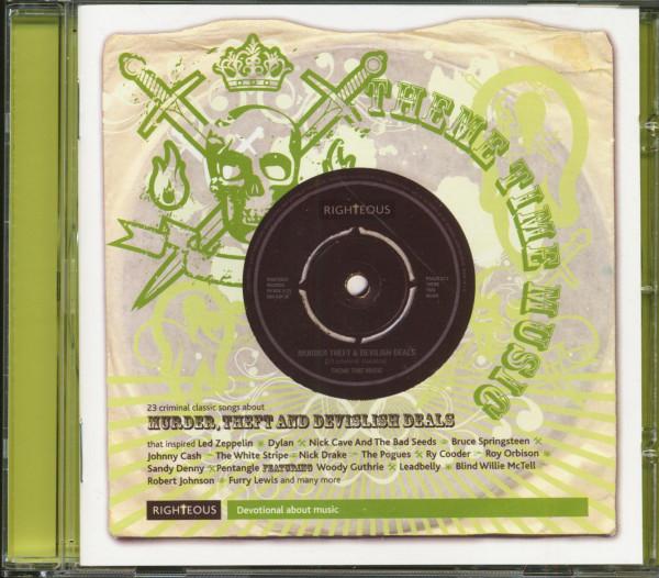 Murder, Theft And Devilish Deals (CD)