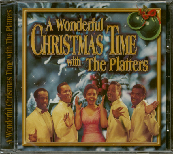 A Wonderful Christmas Time With The Platters (CD)