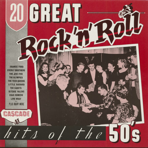 20 Great Rock 'n' Roll Hits Of The 50's (LP)
