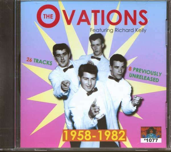 Richard Kelly & The Ovations 1958-1982 (CD)