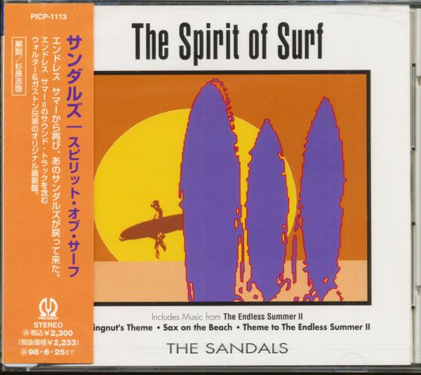 The Spirit Of Surf (CD, Japan)