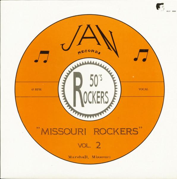 Missouri Rockers Vol.2 - JAN Records (LP)