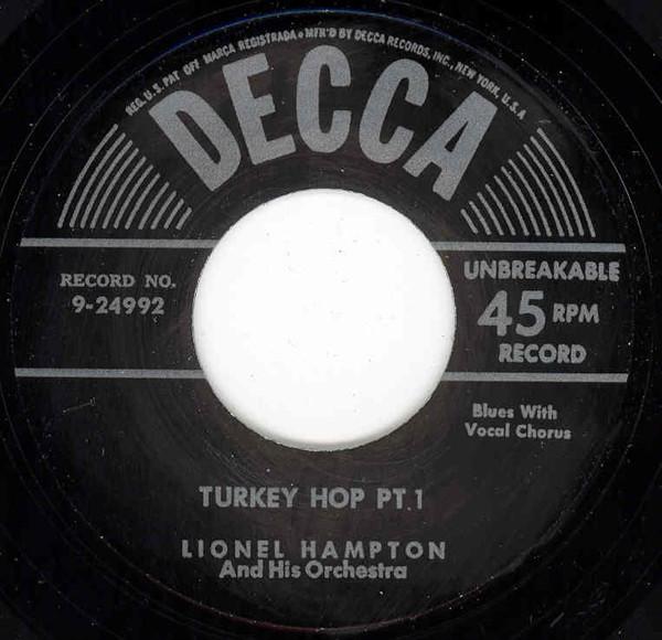 Turkey Hop -part I b-w Turkey Hop -part II 7inch, 45rpm