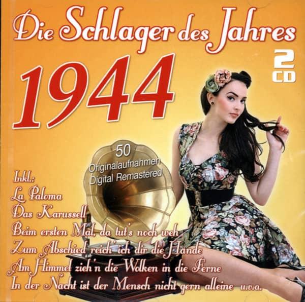 Die Schlager des Jahres 1944 (2-CD)