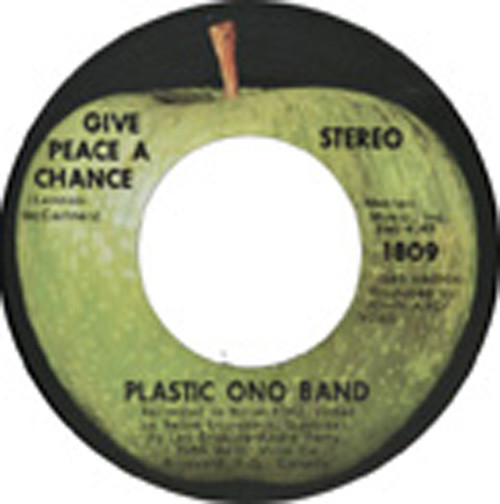 Give Peace A Chance - Remember Love 7inch, 45rpm, CS