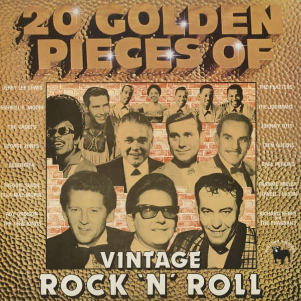 20 Golden Pieces Of Vintage Rock & Roll (LP)