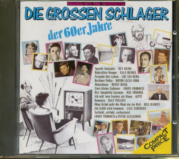 Grosse Schlager der 60er (CD)