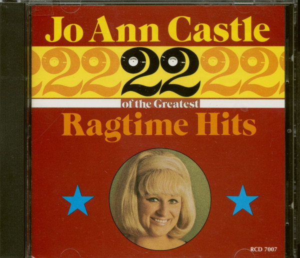 22 Greatest Ragtime Hits (CD)