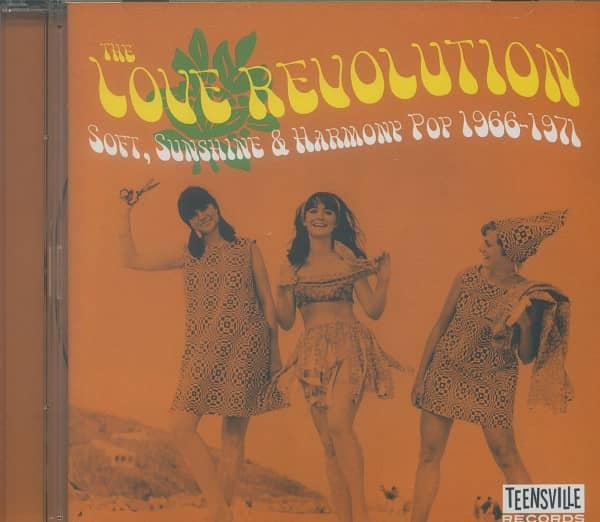 The Love Revolution - Soft, Sunshine &ampamp; Harmony Pop 1966-1971 (CD)