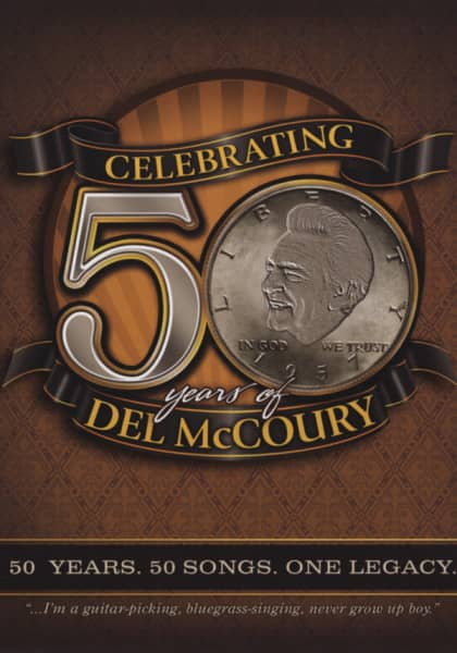 Celebrating 50 Years Of Del McCoury (5-CD)