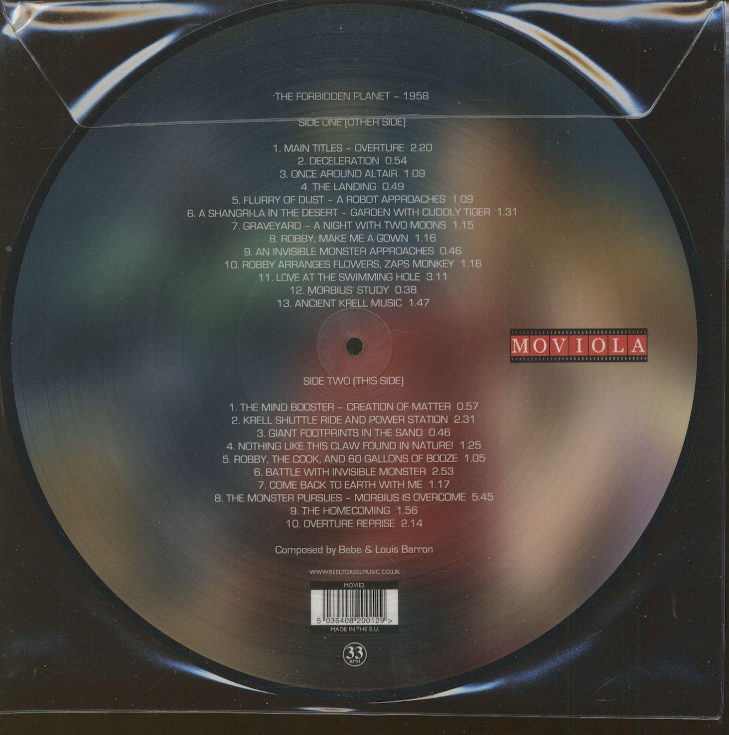 Bebe & Louis Barron Forbidden Planet - Soundtrack (LP)