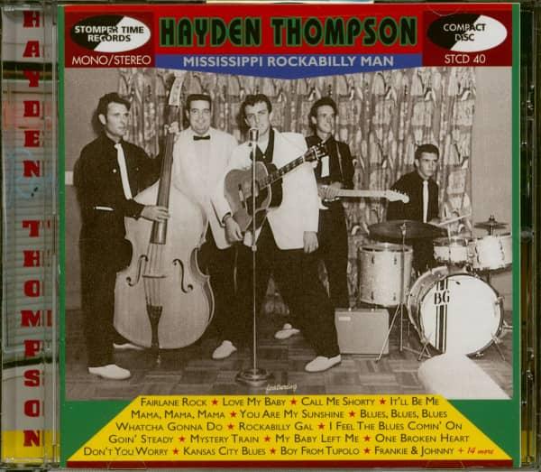 Mississippi Rockabilly Man (CD)