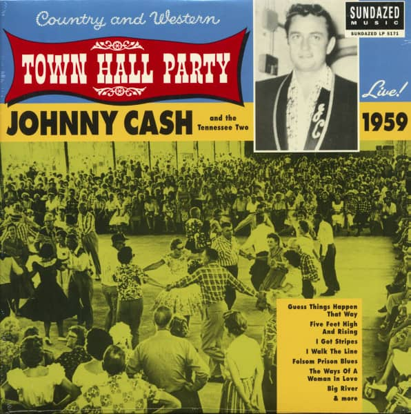 At Town Hall Party 1959 - HQ Vinyl